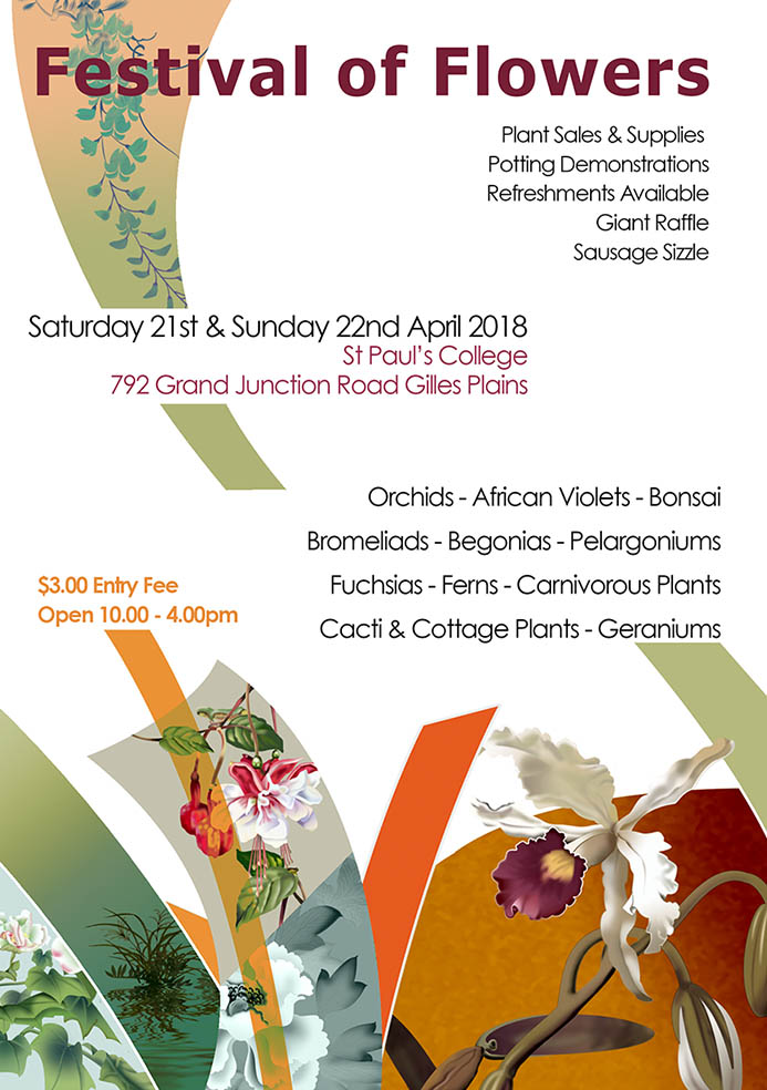 Festival of Flowers 2018 @ St Paul's College | Gilles Plains | South Australia | Australia